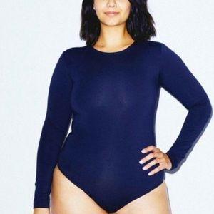 American Apparel - Long Sleeve Bodysuit
